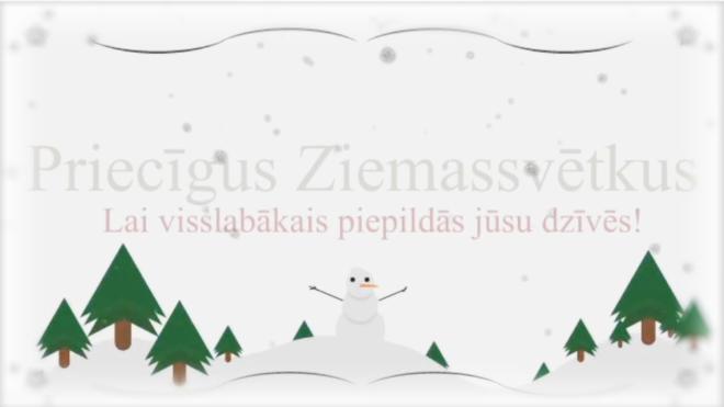 Snowman - Merry Christmas